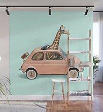 GIRAFFE AUTO Fototapete Home Schlafzimmer