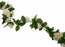 Girlande Hochzeit Die Saisontruhe Baumfarbe: Weiß