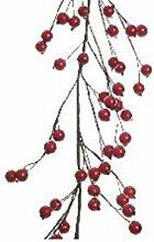 Girlande rot Beerengirlande Weihnachten Tischdeko