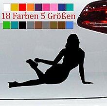 Girlfriend Pin Up 15x11cm Sexy Girl Aufkleber VW