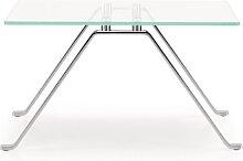 Girsberger Modell 1600 Beistelltisch - Vollkernplatte, weiß