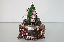 Gisela Graham-Rotierender Weihnachtsbaum Musik