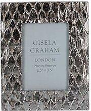 Gisela Graham Bilderrahmen, Kunstharz, Silber, Mini