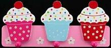 Gisela Graham Garderobe Kindergarderobe cupcake