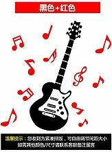 Gitarre Klassenzimmer Dekorative Wandaufkleber