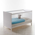 Gitterbett in Weiß Baby