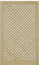 Gittertür Holztür natur 99,3 x 59,4 cm