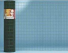 Gitterzaun, Zaun, Beeteinfassung, kunststoffbeschichtet, ca. 25m x 1830 mm