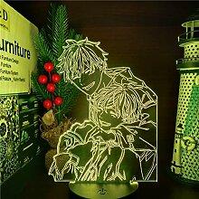 Given Mafuyu And Uenoyama 3D Lampe Nachtlicht Mood