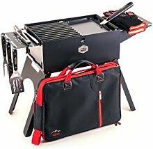 Gizzo Outdoor Kohlegrill Set BBQ - Hochwertiger