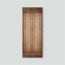 GJ-Kreative Dekoration Holz entfernen können, selbstklebend Klimaanlage Kühlschrank, Stick, Stick 60 * 150 cm, BKühlschrankaufkleber