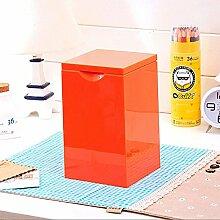 GJ Mülleimer Candy Farbe Auto Mini Schreibtisch