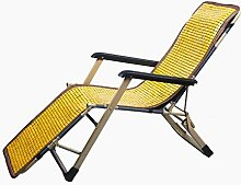 GJBHD Bambus Lounge Chair Matte,kühlung Liege