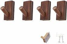 GJCC Holzmantelhaken Dekorative Wandmontage