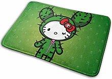 Gjid Hello Kitty Kleid in Cactus Badezimmermatte