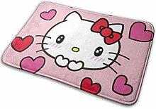 Gjid Hello Kitty Love Badezimmermatte Weiche und