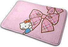 Gjid Hello Kitty mit Bowknot Badezimmermatte