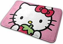 Gjid Hello Kitty mit Erdbeer-Badematte Weiche und
