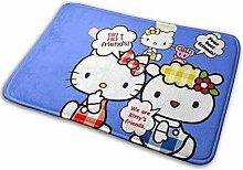 Gjid Hello Kitty mit Freunden Badezimmermatte