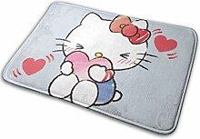 Gjid Hello Kitty mit Liebe Badezimmermatte Weiche