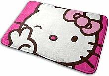 Gjid Kawaii Hello Kitty Badezimmermatte Weiche und