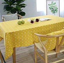 Gjiegengi Tischdecken Dekorative Tischdecke aus