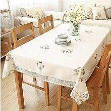 Gjiegengi Tischdecken Tischdecke 130Cm X 130Cm