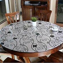 Gjiegengi Tischdecken Tischdecke 80Cm Durchmesser