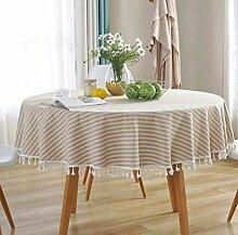 Gjiegengi Tischdecken Tischdecke Gestreifte