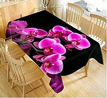 Gjiegengi Tischdecken Tischdecke Orchideen