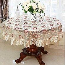 Gjiegengi Tischdecken Tischdecke Runde