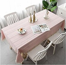 Gjiegengi Tischdecken Tischdecke Tischdecke Rosa