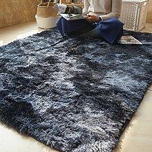 GJIF Einfarbig Langflor Teppich für Kinder