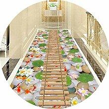 GJIF Große Teppich Flur Runner für Hall Kitchen