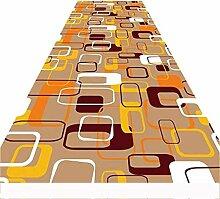 GJIF Läufer-Teppich für Flur 8mm kurzer Flor