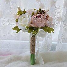 GJX Künstliche Blumen Seidenblumen Brautjungfer