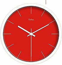 GJY European-Style Wohnzimmer Silent Clock / Creative Home Decoration-Schlafzimmer Wanduhr-U 12Inch,E,10 Zoll