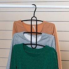 GJY WCP Mehrschichtige Mehrzweck Magic Kleiderbügel/Kleiderhaken/Slip Kleiderbügel-B,C