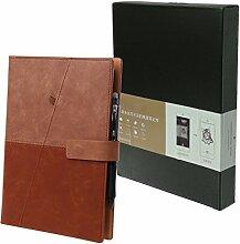 Gjyia Zeichnung Löschbare A5 Notebook Leder