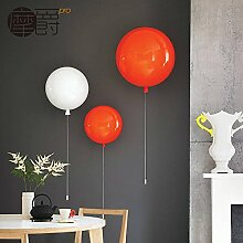 GK -kinderzimmer wandfarbe ballon schlafzimmer lampe - wand lampe modernen minimalistischen schlafzimmer mit lampe einzigen kopf,grüne,25 cm