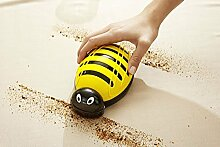 GKA Biene Tischkehrer Tischbürste Handbüste Krümelbürste Tischroller Rollbürste Handkehrer