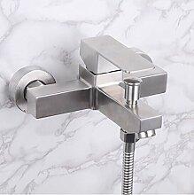 GKCSty 304 Edelstahl Dusche Badewanne, warmes und