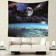 GKLKU Galaxy Tapisserie Raum Wandteppich für