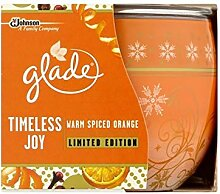 Glade 4 x Duftkerze Warm Spiced Orange Limited