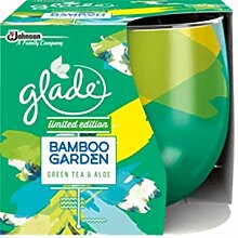 Glade 6 x Duftkerze Bamboo Garden - Green Tea &