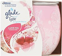 Glade 6er Pack Duftkerze - I Love You - bis zu 30