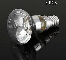 Gladle R39 E14 Lava Lampe Ersatzlampe 30 Watt Reflektortyp 5 PCS
