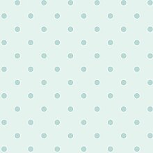 glänzenden blauen Punkten auf Boden Pastell Hellblau-Tapete aus Papier duplex robust Märchen 303252