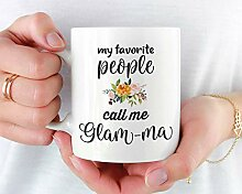 Glam Ma Becher, Geschenk für Glam Ma,