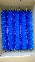 GLAMAT Filterbürsten Blau 50 cm Ø 150mm x 12